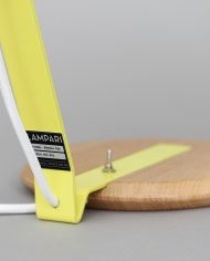Lampari Rhoda TBS Jaune Citron / Blanc