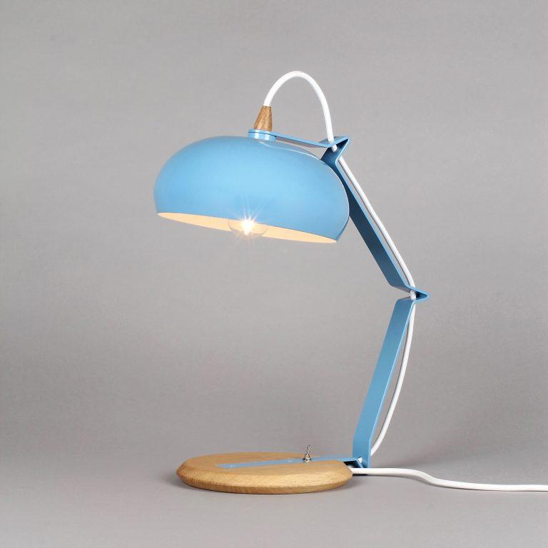 Lampari Rhoda TBS Bleu Azur / Blanc
